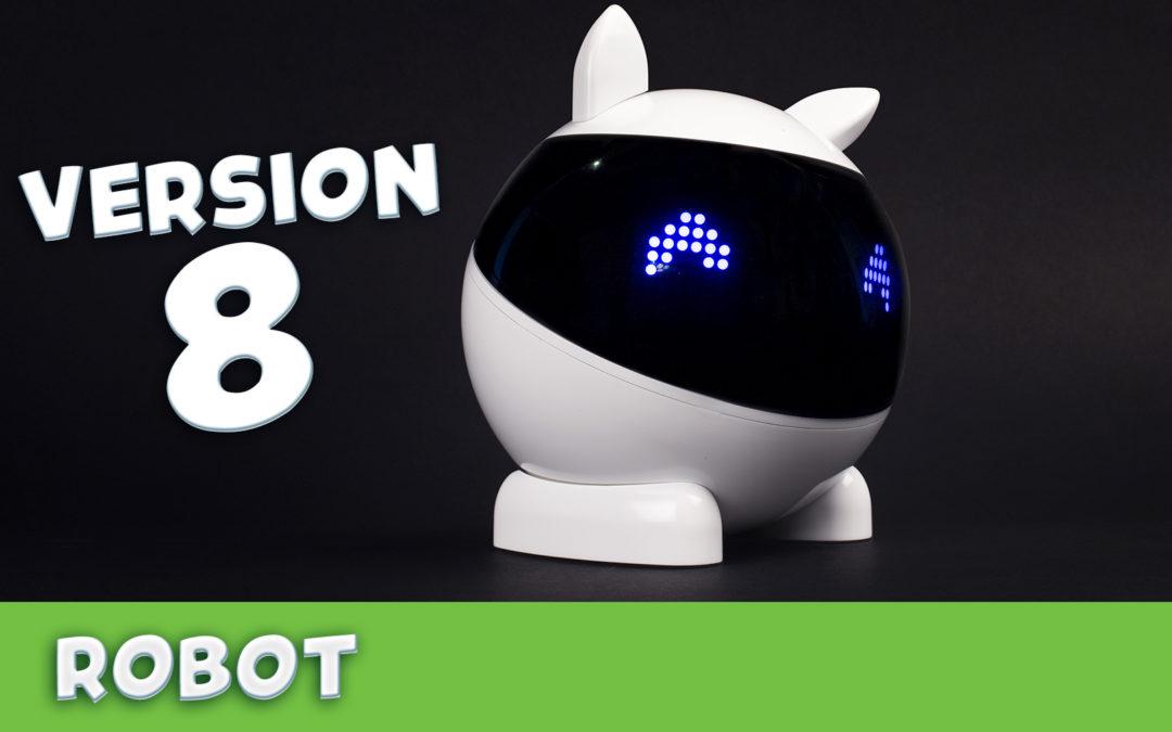 Nouvelle version du firmware du robot
