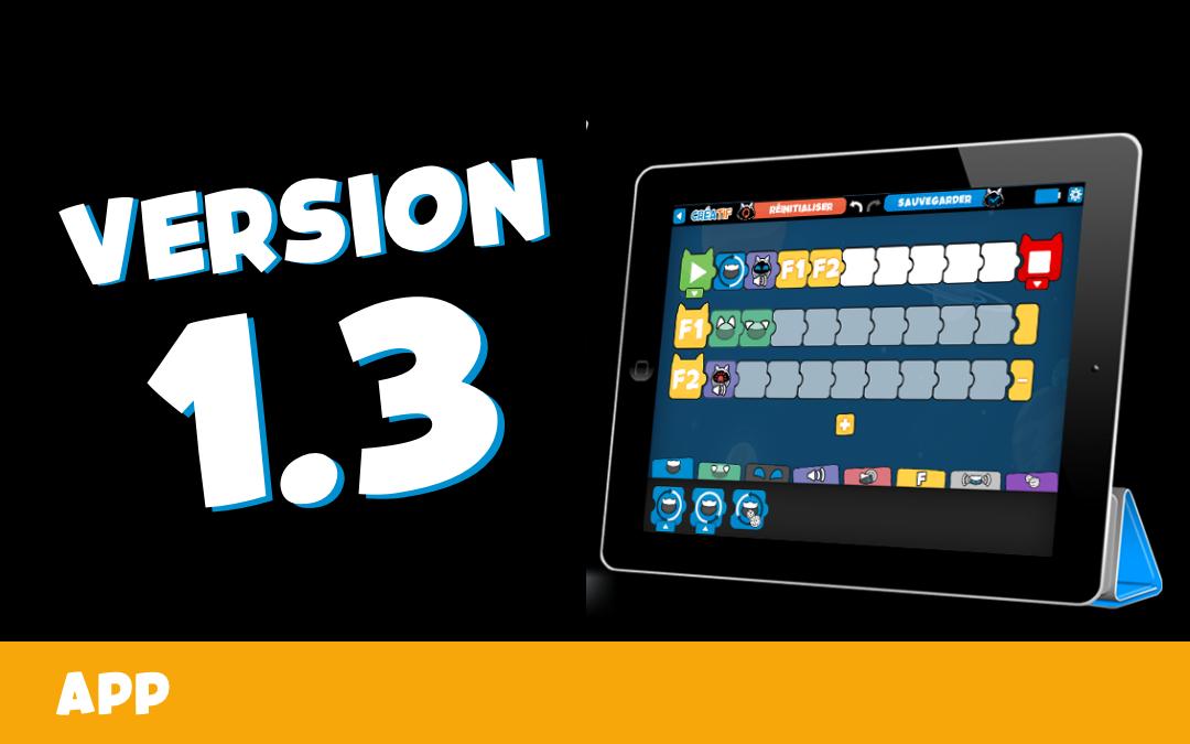 📲 Installez la nouvelle MAJ V1.3 de la WinkyApp !