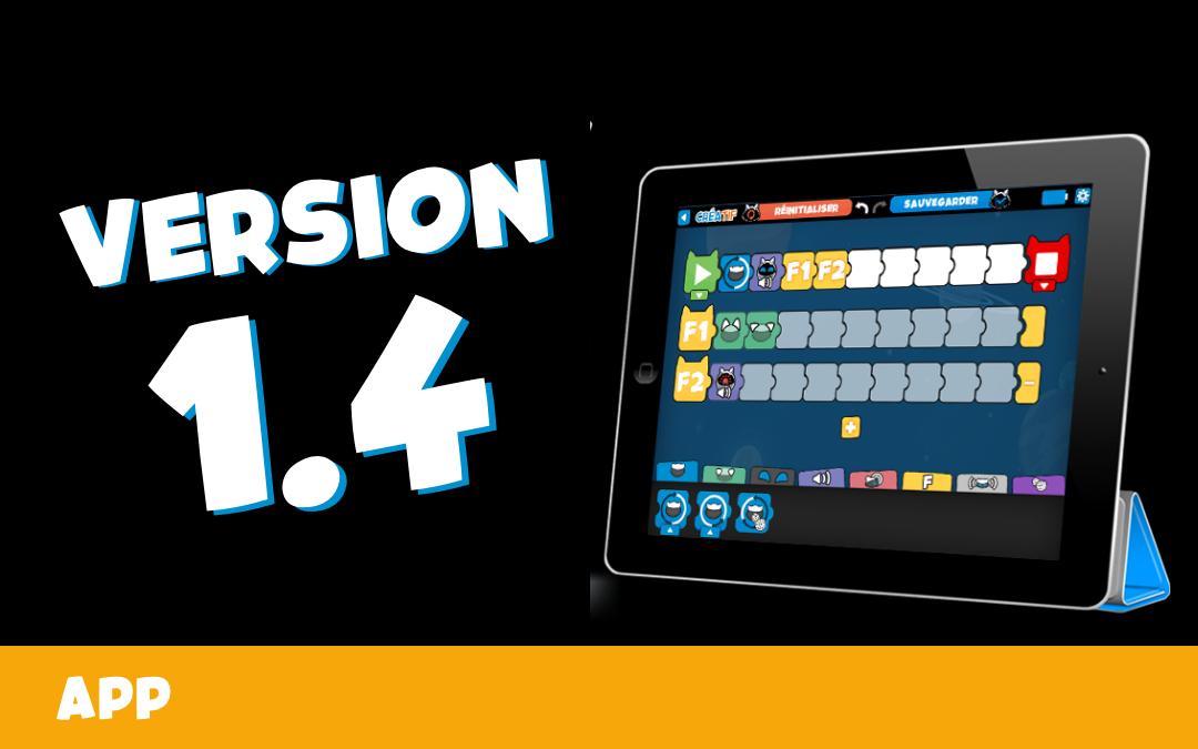 🎁 📲 Mise à jour V1.4.2 de la WinkyApp !
