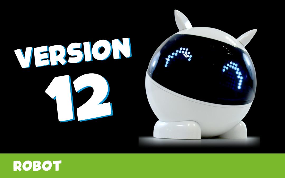 🎁 🤖 Mise à jour V12 du robot Winky !