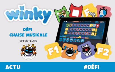 🤖 🎼 Défi Winky : 1,2,3 soleil musical !
