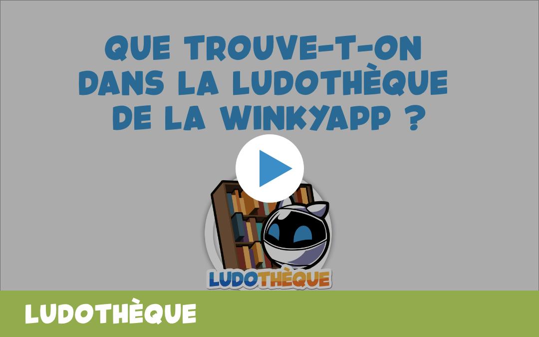 Découvrez la vidéo de la Ludothèque Winky !