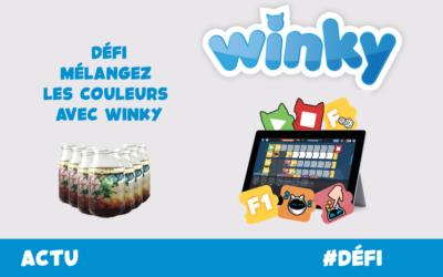 🖌 Mélangez les couleurs avec Winky 🎨🤖
